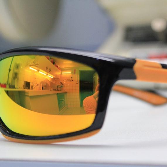 Montage solaire monture sport base 8 avec détalonnage.