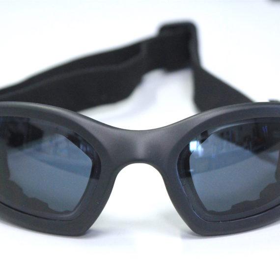 Montage de verres correcteurs -5.50 sur lunettes sport DEMETZ.