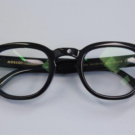 Montages de lunettes Moscot, Lesca, Anne et Valentin, Bulgari.