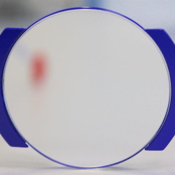 """Montage """"nylor"""" titane sur lunettes Sabine B."""