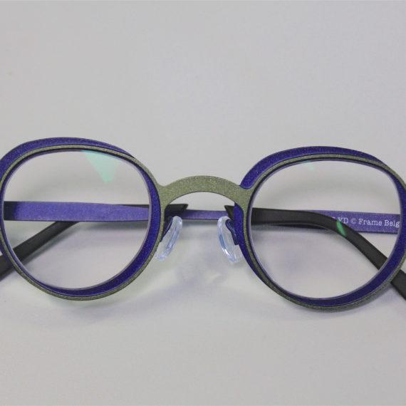 Montages de verres asymétriques pour lunettes THEO.